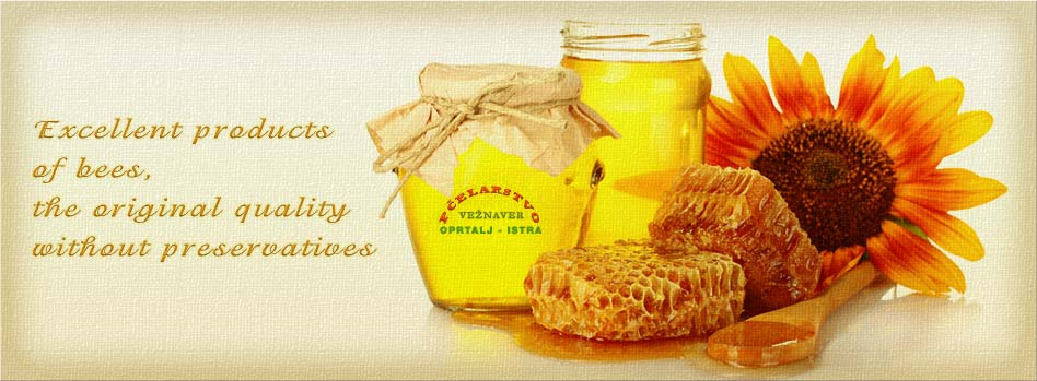 Excellent products of bees, the original quality without preservatives